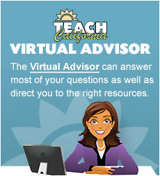 Teach California Virtual Advisor